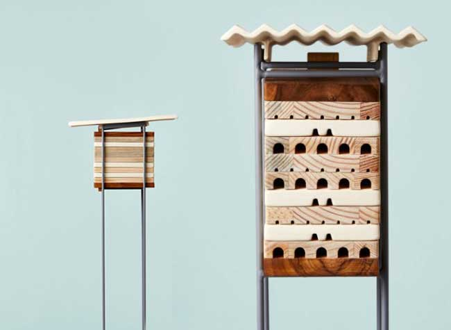 ruches villes abeilles solitaires maliarts 2 - Ruches Urbaines Design pour Sauver les Abeilles Solitaires