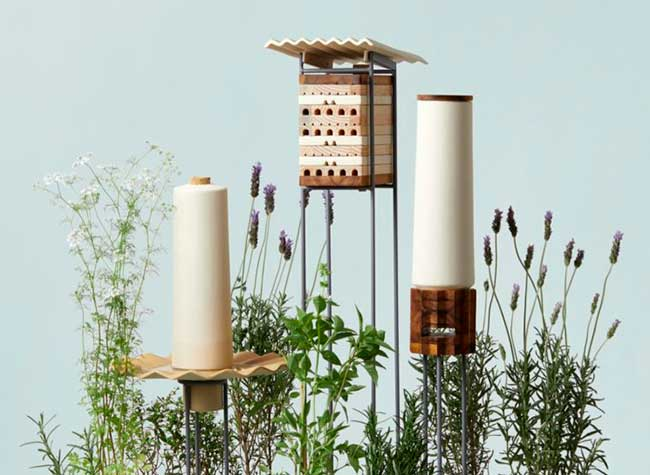 ruches villes abeilles solitaires maliarts 4 - Ruches Urbaines Design pour Sauver les Abeilles Solitaires