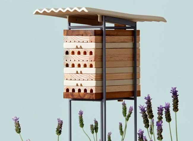 ruches villes abeilles solitaires maliarts 7 - Ruches Urbaines Design pour Sauver les Abeilles Solitaires