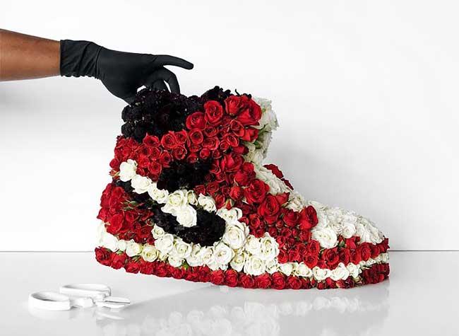 sculpture baskets fleurs art florale mr flower fantastic 6 - Avec des Fleurs Il Sculpte les Plus Populaires Baskets