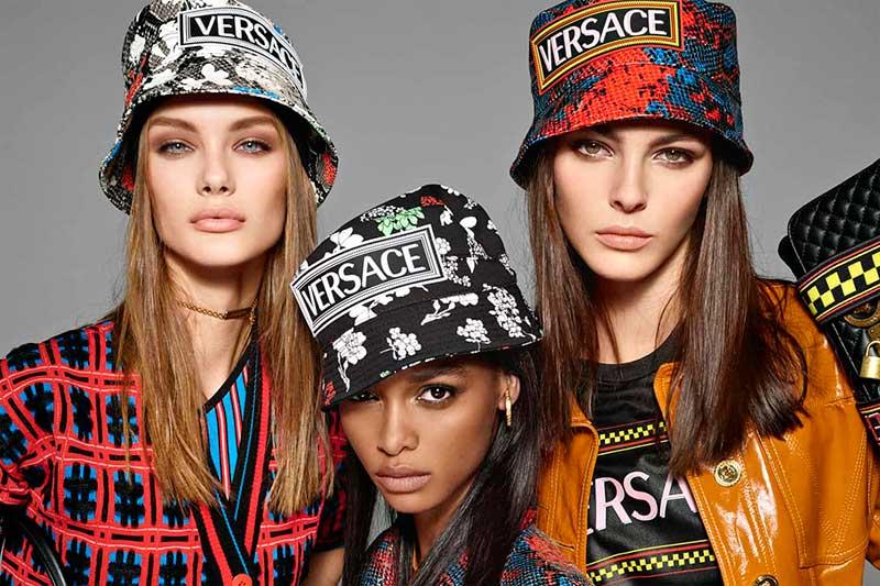 campagne versace femme ete 2019 2 - Retro et Artistique sera la Femme Versace l'Ete Prochain