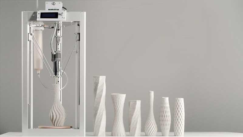 cerambot imprimante 3d ceramique terre glaise prix 1 - CeramBot, 1ere imprimante 3D de céramique à Petit Prix (video)