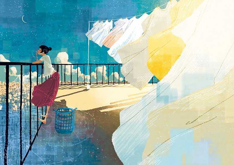 dessins digital art joze shimazaki 3 - Il Illustre la Vie Quotidienne Avec Féérie