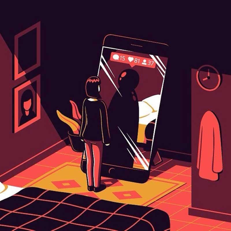 Elia Colombo illustrations société, Pour Illustrer la Vie Moderne, Il ne Mâche pas ses Crayons !