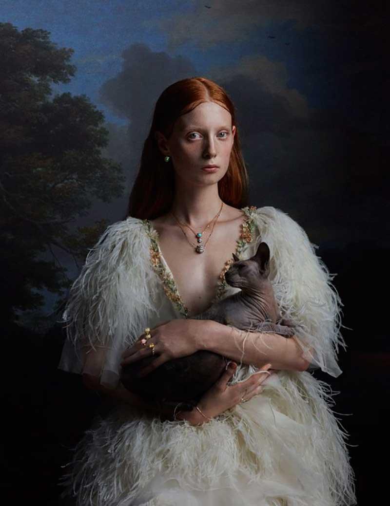Gucci joaillerie marché merveilles, Gucci Joaillerie S'Inspire de Nouveau des Peintres Flamands