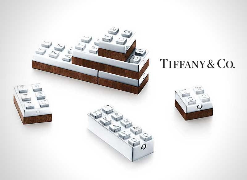 lego argent luxe tiffany co bijoux 1 - Luxueux Jeu de Lego chez le Joaillier Tiffany & Co