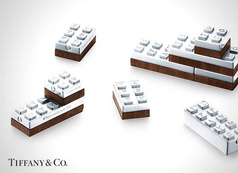 Bijoux Tiffany Lego, Luxueux Jeu de Lego chez le Joaillier Tiffany & Co