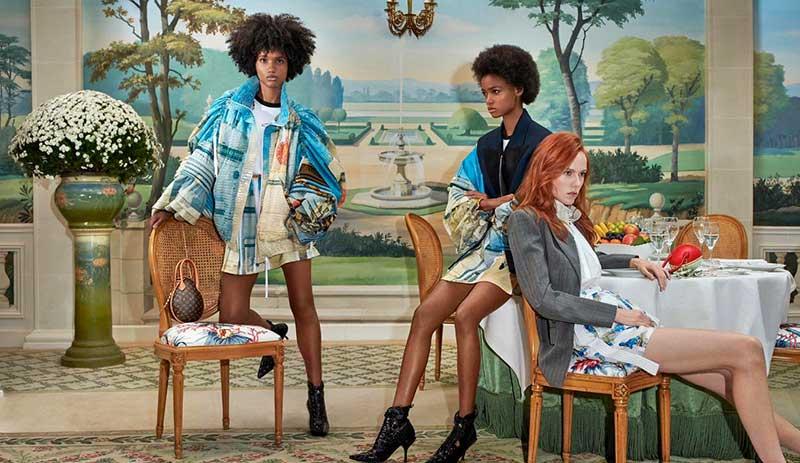 louis vuitton femme campagne printemps ete 2019 1 - Un Eté 2019 au Resto pour la Femme Louis Vuitton
