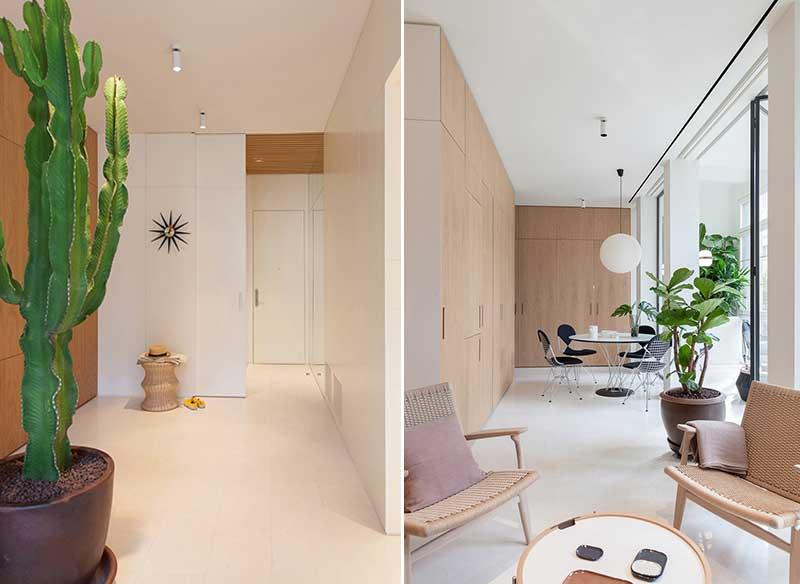 Rénovation appartement Barcelone, Intérieur Ensoleillé pour cet Appartement Rénové à Barcelone