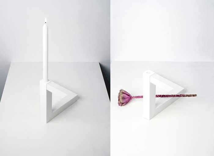 Triangle Penrose vase, L'impossible Triangle de Penrose Devient un Vase