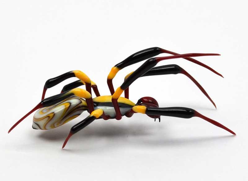 wesley fleming sculpture insectes verre art 5 - Ces Insectes en Verre vont vous Souffler par leur Réalisme