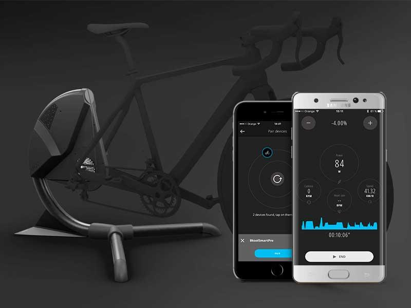 bkool smart air simulateur support velo connecte 1 - BKool Transforme les Velos en Simulateur pour Cyclistes (video)