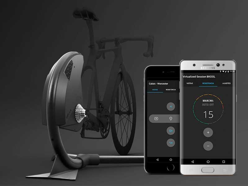 bkool smart air simulateur support velo connecte 3 - BKool Transforme les Velos en Simulateur pour Cyclistes (video)