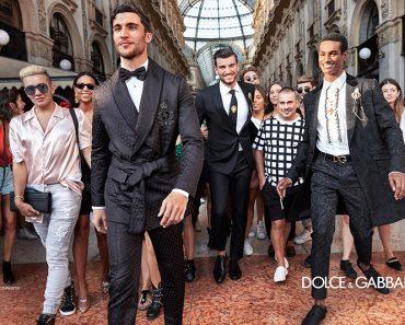campagne dolce gabbana homme ete 2019 1 370x297 - L'Homme Dolce Gabbana Descend dans la Rue pour Fêter l'Ete
