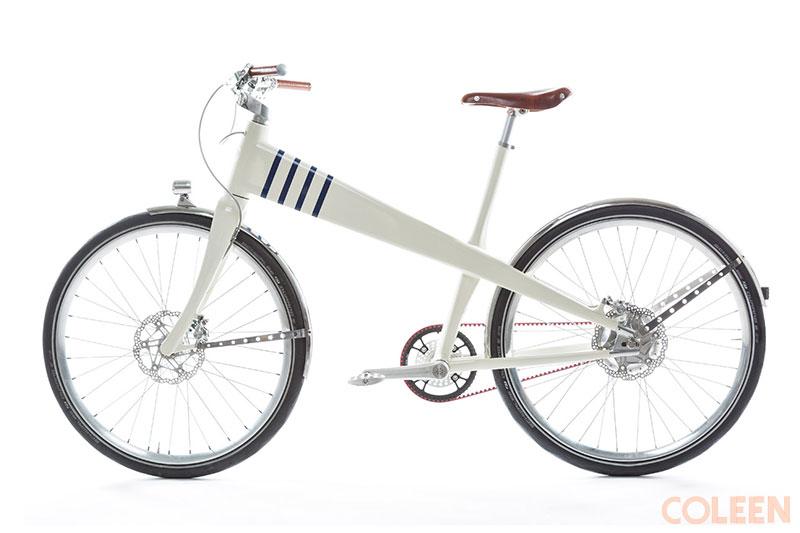 Coleen vélo électrique connecté, Coleen, un Velo Français Beau, Rétro et Branché (video)