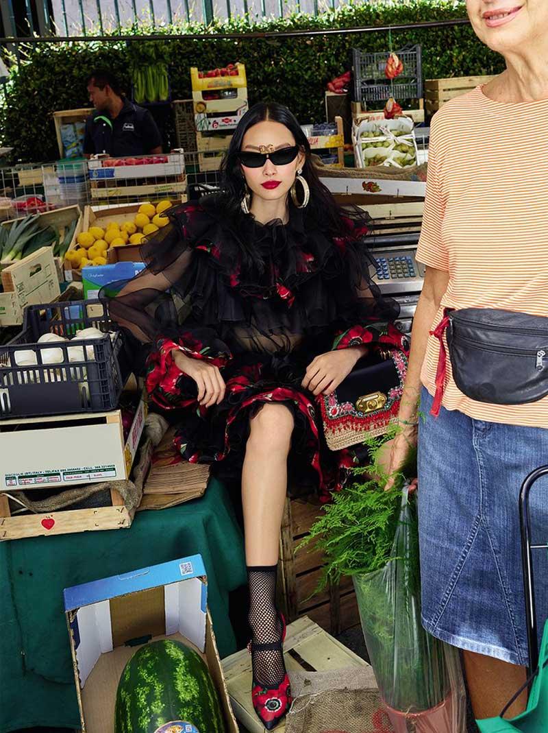 Accessoires Dolce Gabbana Femme Ete 2019, Dolce Gabbana Femme Fait son Marché aux Accessoires
