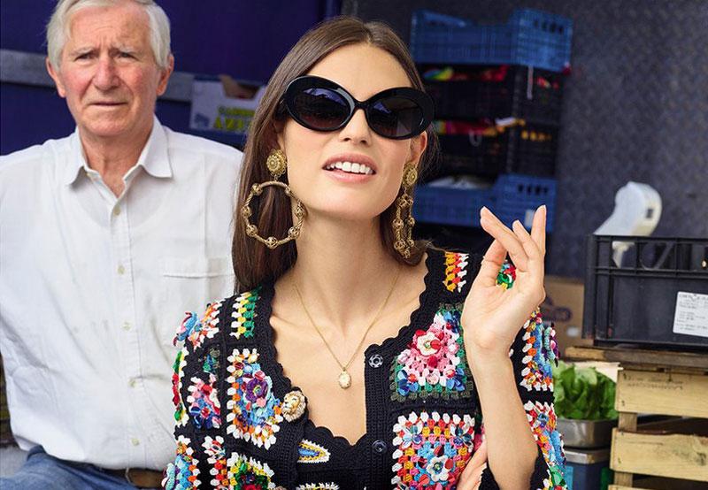 dolce gabbana accessoires femme ete 2019 7 - La Femme Dolce Gabbana Fait son Marché aux Accessoires