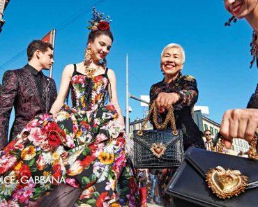 dolce gabbana campagne ete 2019 femmes 1 370x297 - Pour Dolce Gabbana Ete 2019 les Tops et Célébrités Descendent dans la Rue en Italie