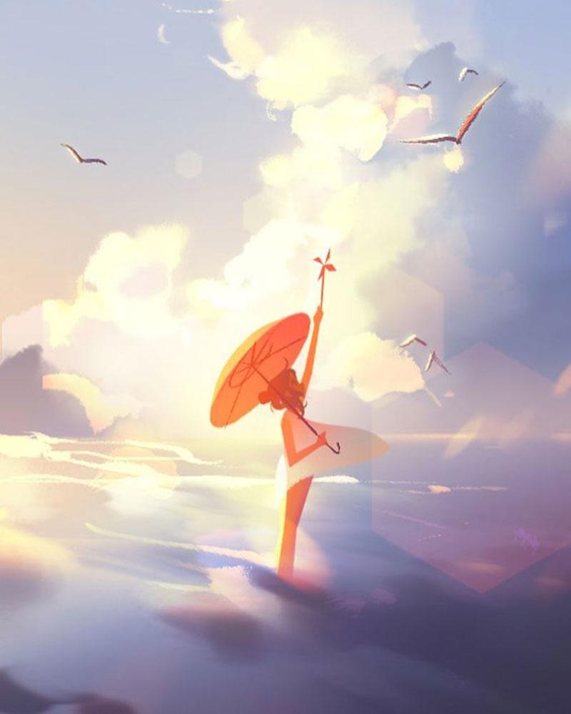 Illustrations Jenny Yu, Cette Illustratrice Rappelle Combien les Moments de Solitude sont Appréciables
