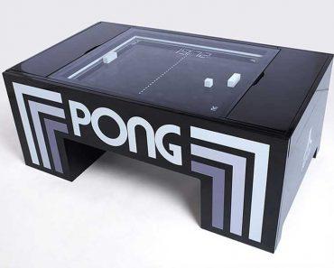 jeu mecanique pong atari tablepongproject table basse salon 2 370x297 - Jeu de PONG Mécanique dans la Table Basse de Salon (video)
