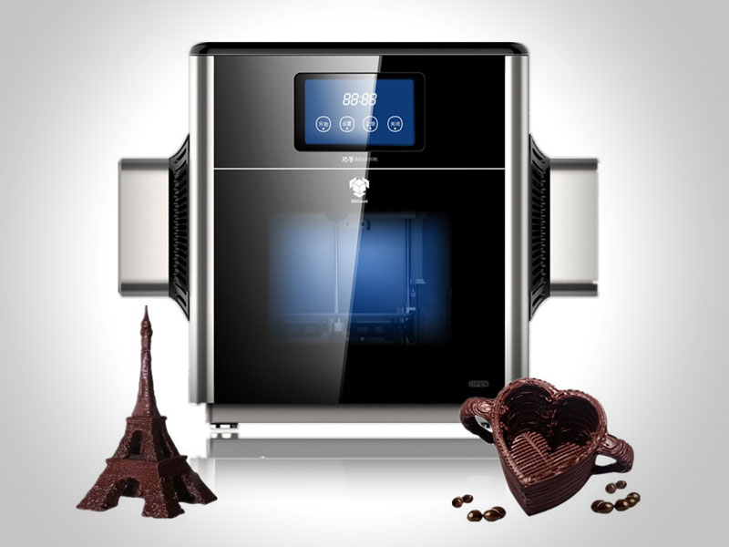 mmuse printer imprimante 3d pour chocolat 1 - Avec Mmuse Printer, Imprimer de Vrais Chocolats en 3D (video)