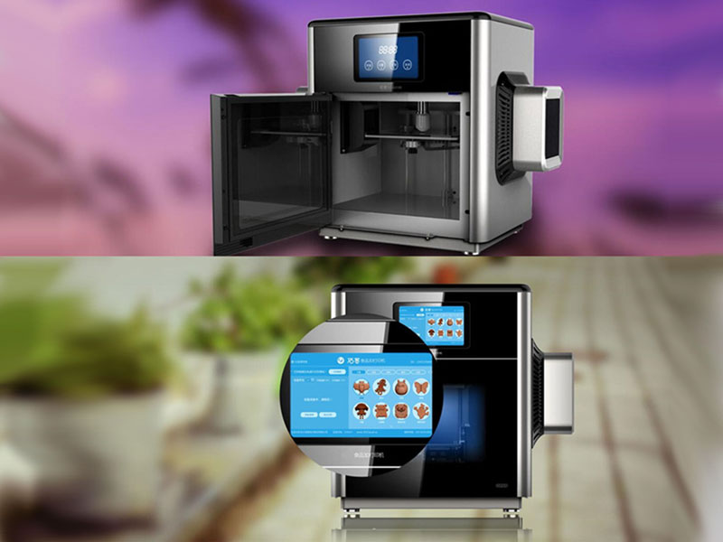 mmuse printer imprimante 3d pour chocolat 3 - Avec Mmuse Printer, Imprimer de Vrais Chocolats en 3D (video)