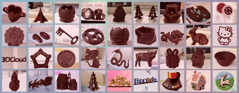 mmuse printer imprimante 3d pour chocolat 4 - Avec Mmuse Printer, Imprimer de Vrais Chocolats en 3D (video)