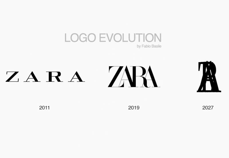 nouveau logo zara fabien baron 6 - Zara se Prend les Pattes dans son Nouveau Logo (video)