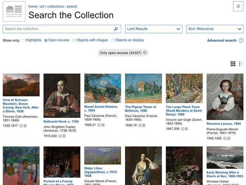 oeuvres art telecharger gratuit internet cleveland museum 2 - 34000 Oeuvres d'Art Numérisées en Téléchargement Libre et Gratuit