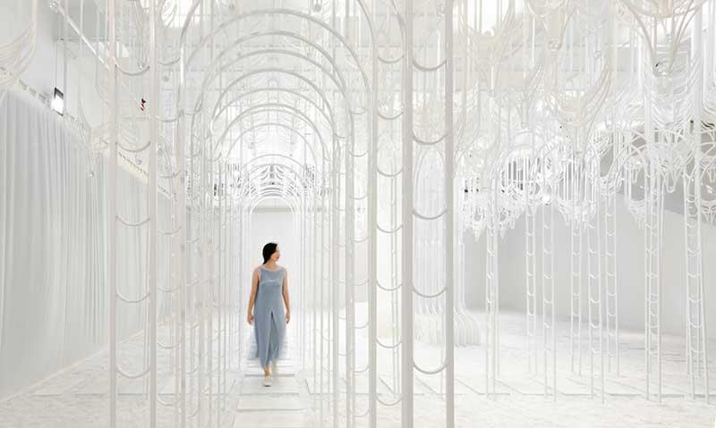 pamela tan eden installation art 2 - Eden, un Paradis Blanc en Installation d'Art Immersive