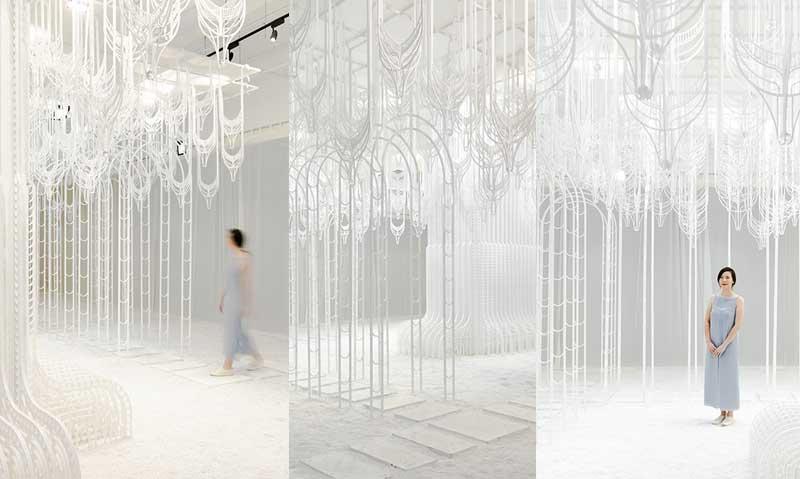 pamela tan eden installation art 3 - Eden, un Paradis Blanc en Installation d'Art Immersive