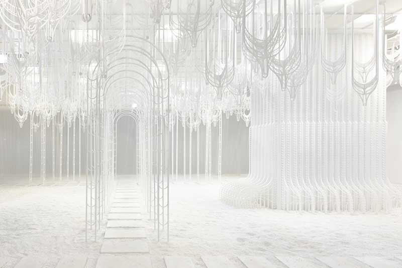 pamela tan eden installation art 4 - Eden, un Paradis Blanc en Installation d'Art Immersive