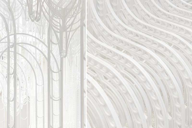 pamela tan eden installation art 6 - Eden, un Paradis Blanc en Installation d'Art Immersive