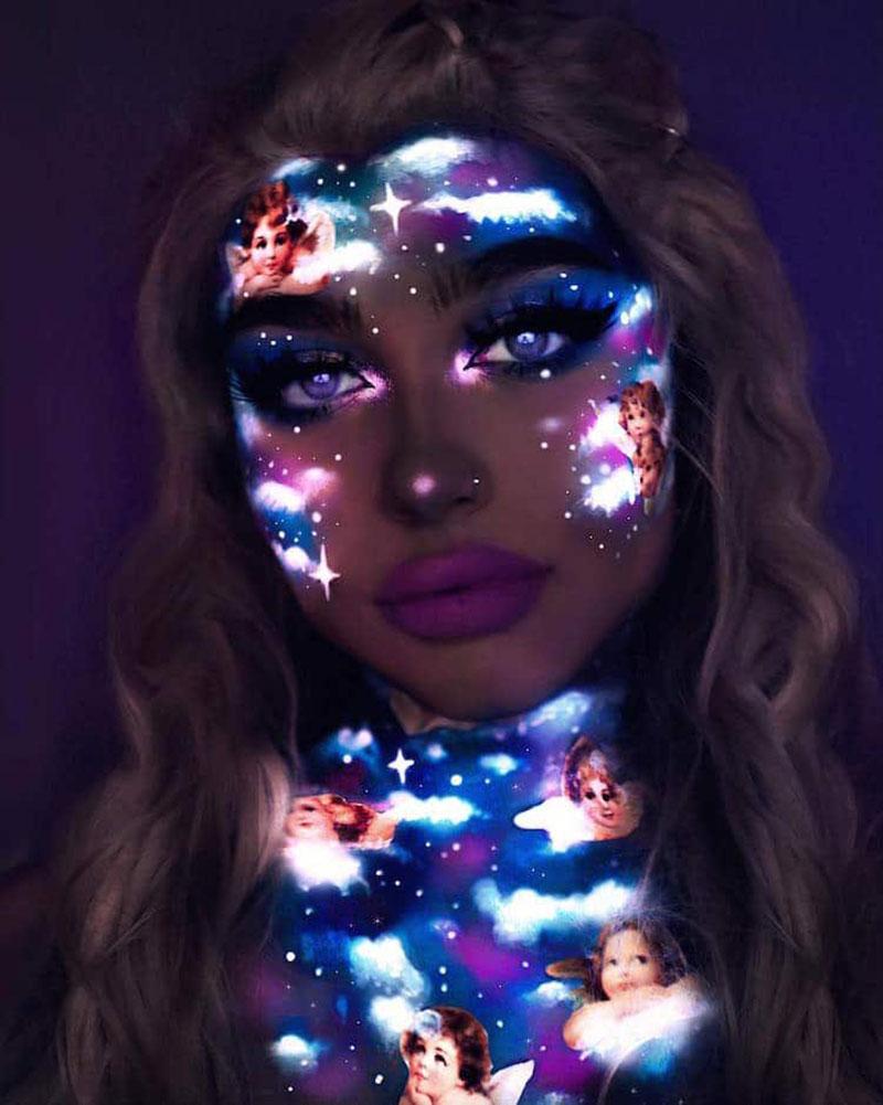 Maquillages Neon, Ces Maquillages Néon Artistiques ne se Voient que la Nuit