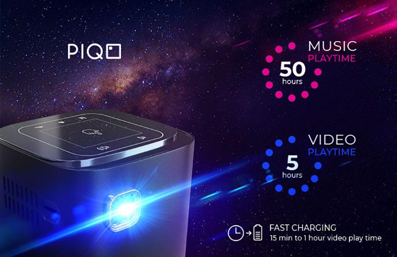 piqo projector projecteur full hd mini connecte petit prix 2 - PIQO, le Plus Petit Projecteur HD Connecté au Monde
