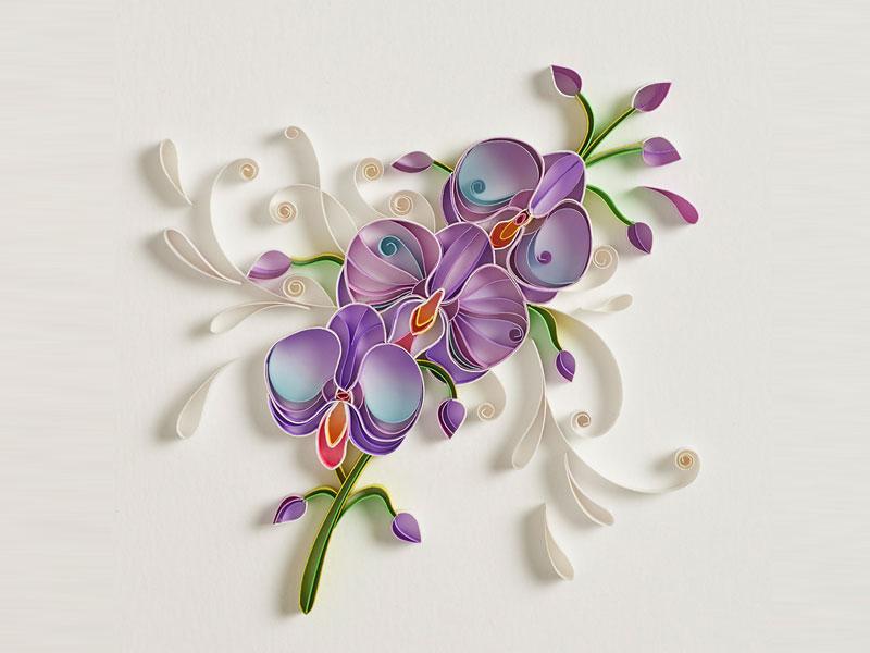 typographies 3D papier, Typographies 3D Sculptées en Papier,  un Art Coloré !
