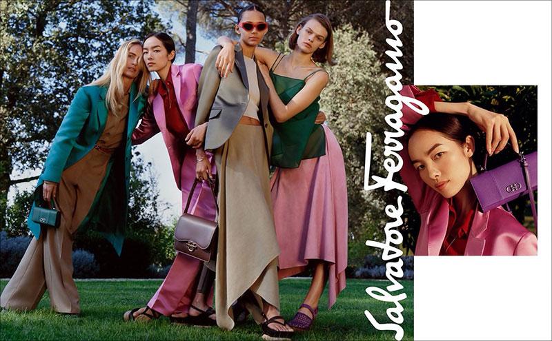 salvator ferragamo campagne femme homme ete 2019 2 - La Femme Salvatore Ferragamo Passe l'Eté à la Villa La Trinita