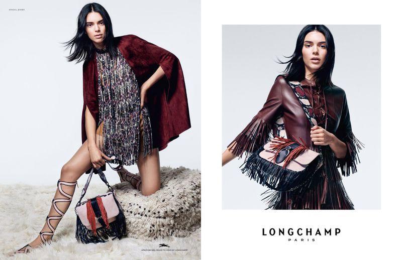 campagne longchamp printemps ete 2019 6 - Pour Longchamp cet Ete Kendall Jenner Joue les Amazones