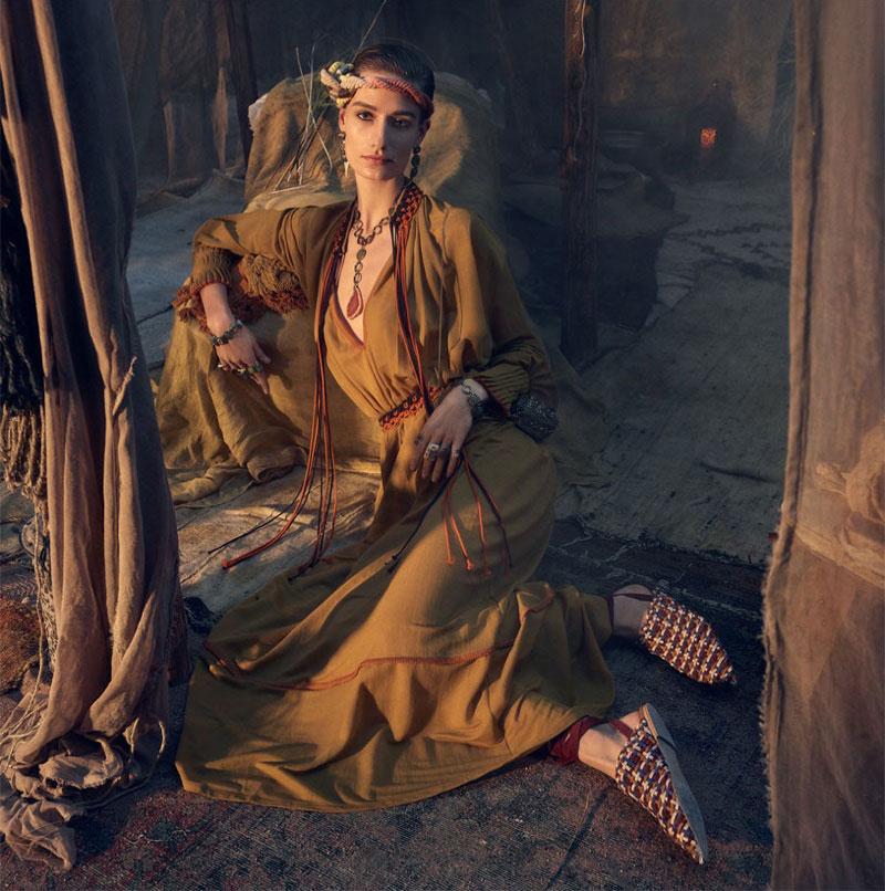 Zara Femme Ete 2019, La Femme Zara s'Offre une Escale Orientale au Maroc
