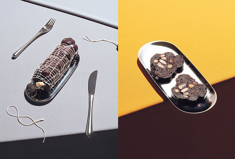 carolien niebling charcuterie vegetarienne insectes future sausage 4 - Savoureuse Charcuterie aux Insectes et Légumes
