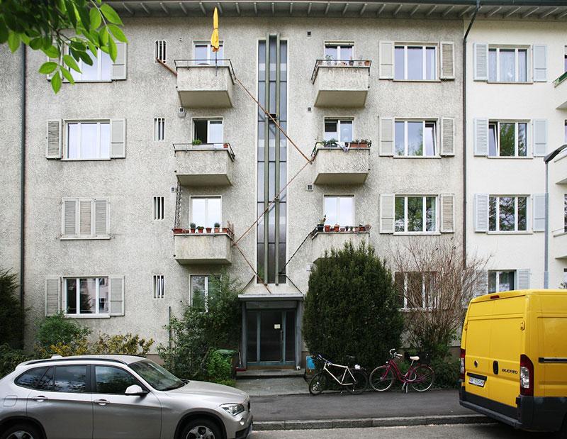 echelles chats ville cat ladders brigitte schuster 7 - Échelles pour Chats Fleurissent sur les Maisons en Suisse