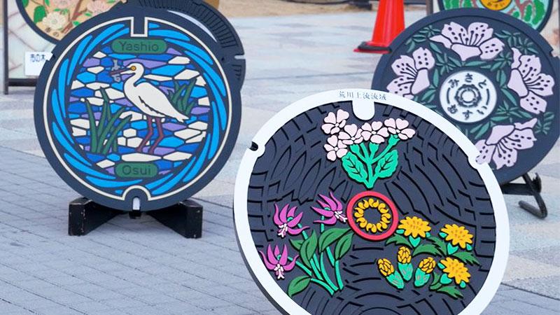 festival salon plaque egout fonte japon street art 2 - Salon des Plaques d'Égout un Art Venu du Japon
