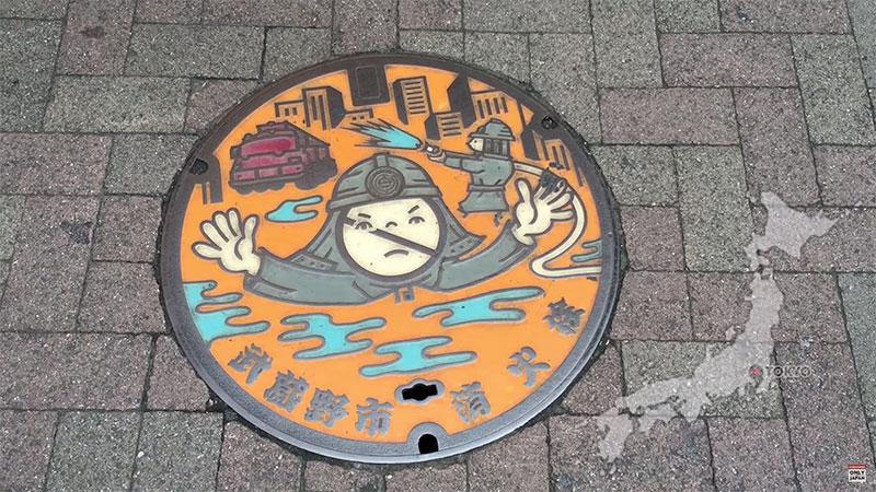 festival salon plaque egout fonte japon street art 4 - Le Salon des Plaques d'Egouts Artistiques a Lieu au Japon (video)