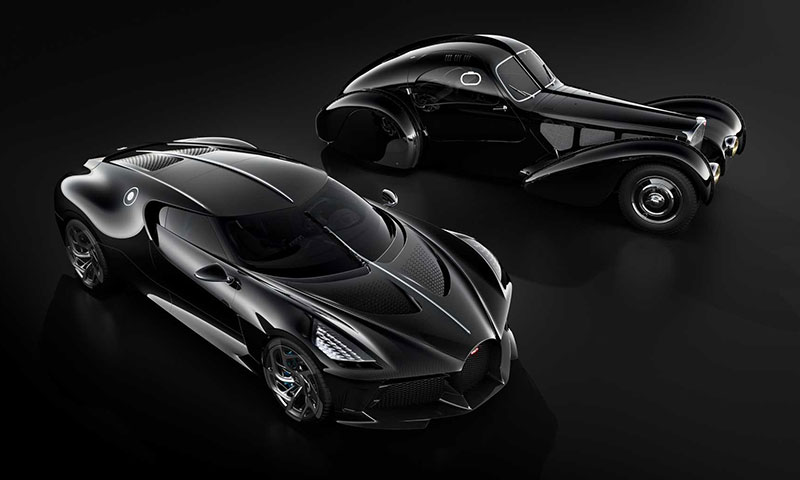 bugatti la voiture noire nouvelle atlantic prix date