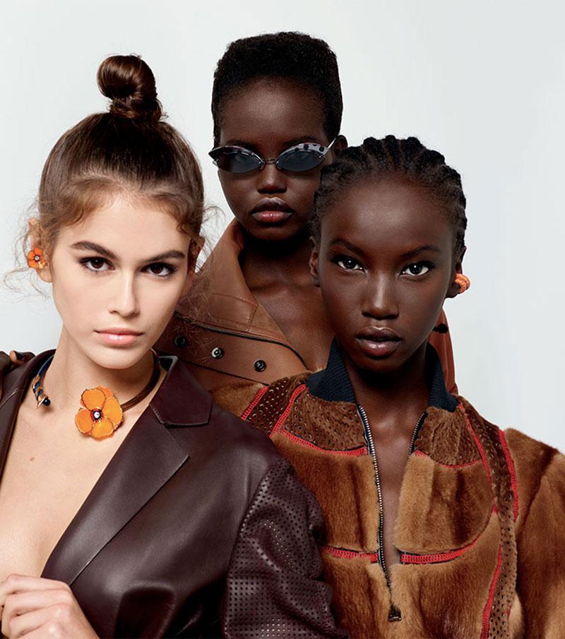 campagne Fendi, Karl Lagerfeld, sa Dernière Campagne Fendi