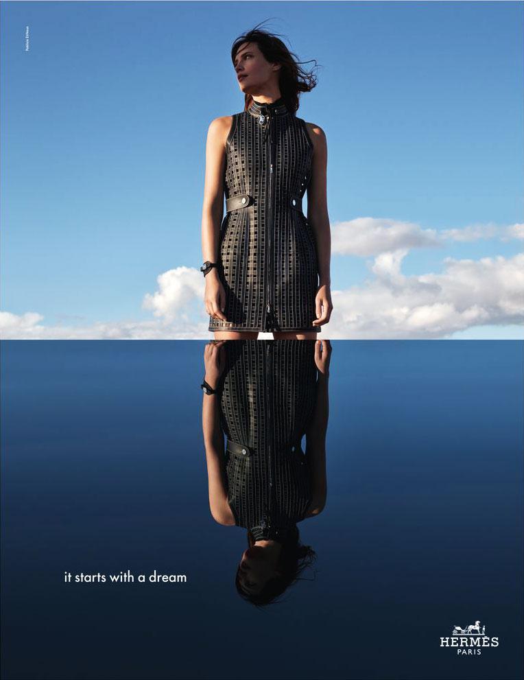 Hermès campagne printemps été 2019, Campagne Hermès Printemps Eté 2019 entre Ciel et Mer