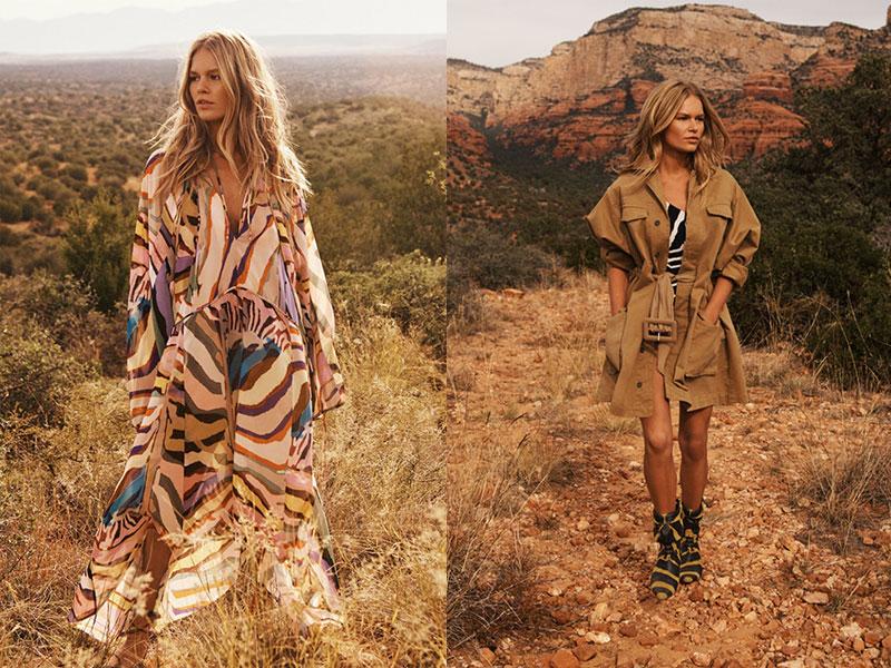 h&m studio printemps été 2019, Direction le Désert de l'Arizona pour la Femme H&M Studio