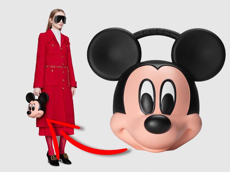 Sacs à Main Gucci Mickey Imprimés en 3D