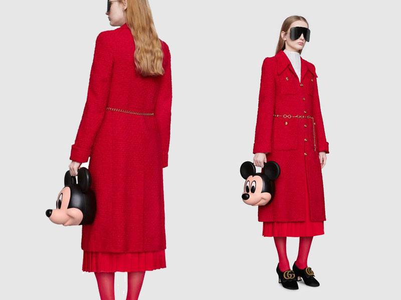sacs gucci tete mickey mouse 3d, Gucci se Paie la Tete de Mickey sur ses Sacs à Main
