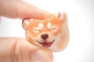 shiba chien marshmallows felissimo